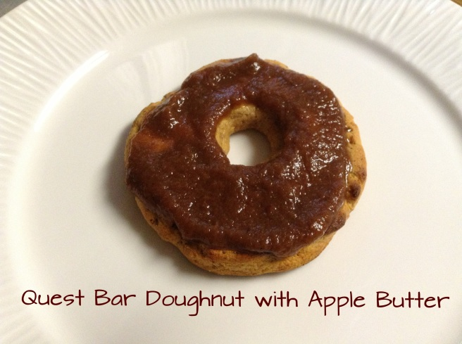 Quest Bar Doughnuts with Apple Butter